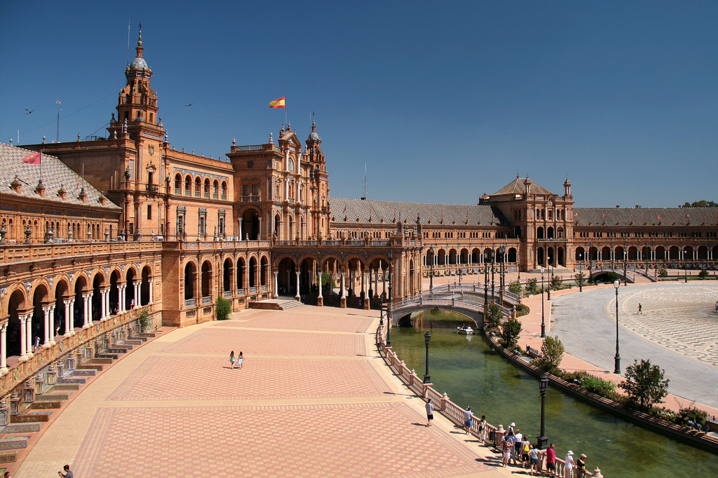Площадь Испании в Севилье Фото: Jorge Franganillo (flickr / C.C.)