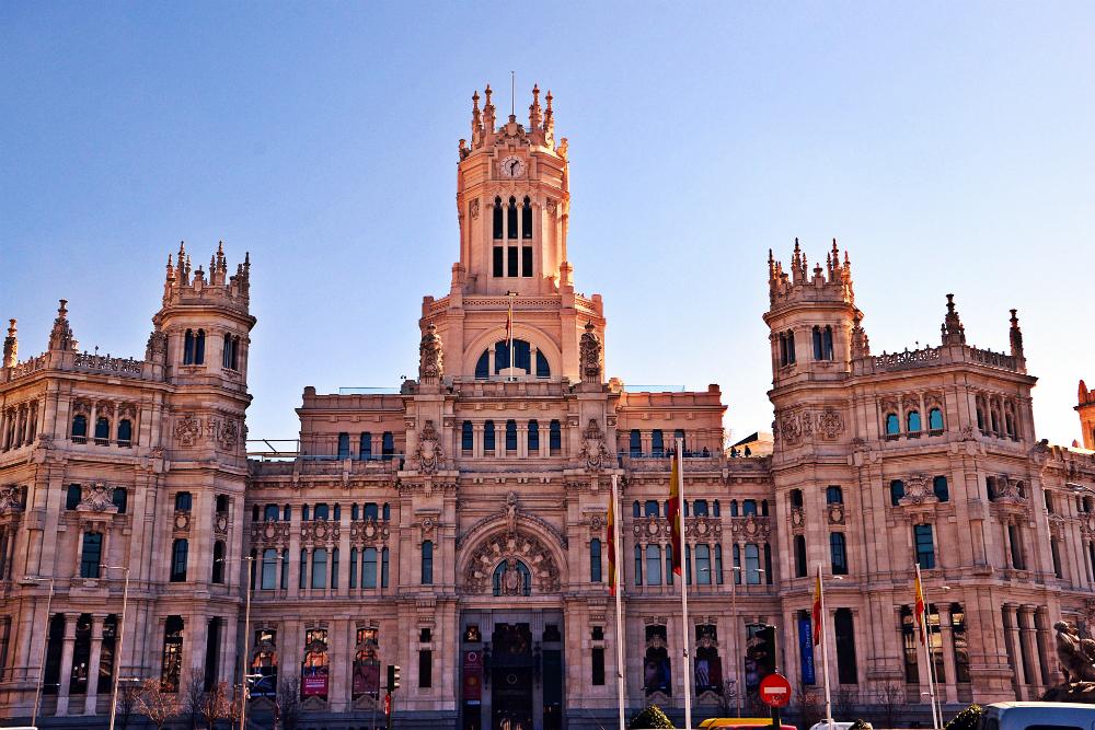 Мадрид Карта