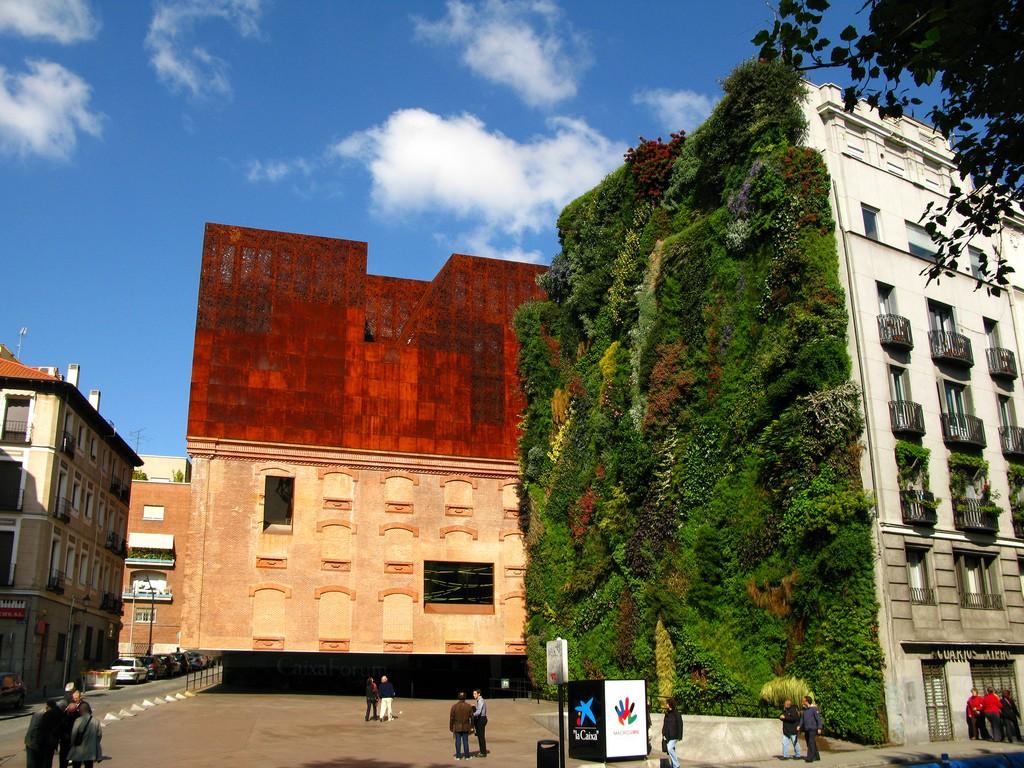 Caixa Forum (Мадрид) фото: miskaknapek