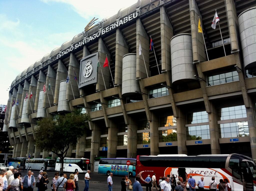 Тур по стадиону Сантьяго Бернабеу («Реал Мадрид»)