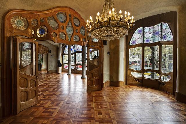 Дом Бальо в Барселоне Гауди