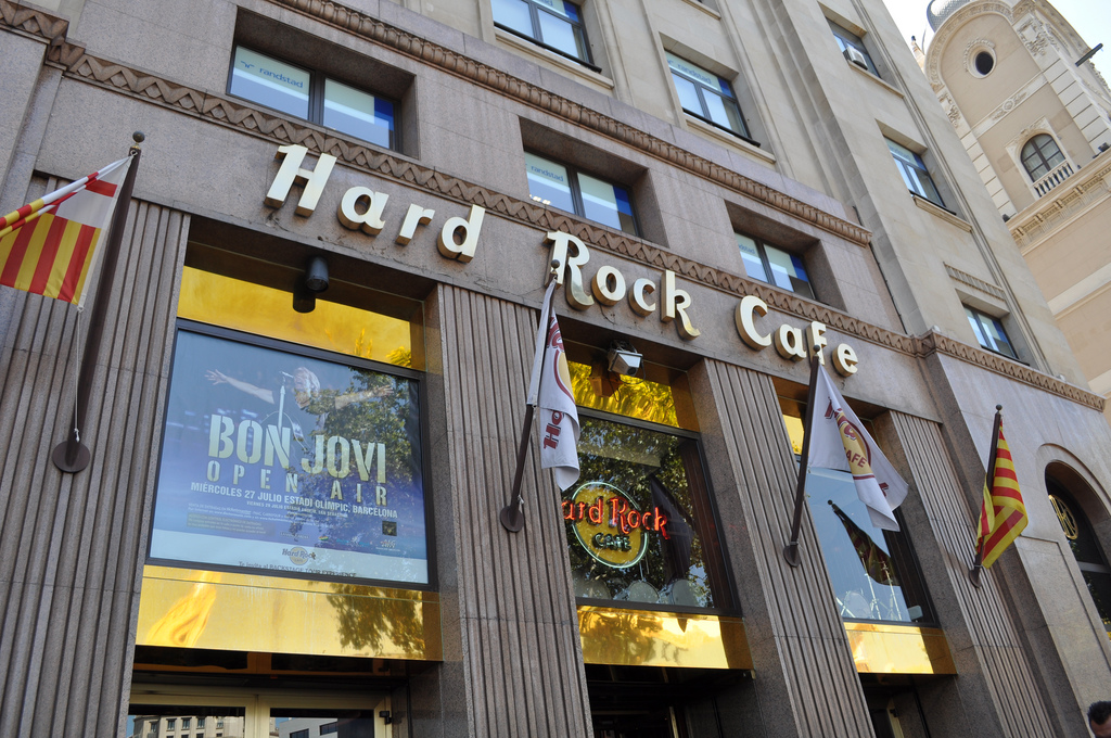 Hard Rock Cafe в Барселоне Фото: Tales of a Wnaderer (flickr/ C.C.)