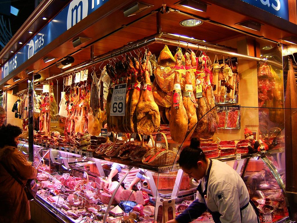 Рынок Ла Бокерия Фото: WordRidden (flickr/ C.C.)