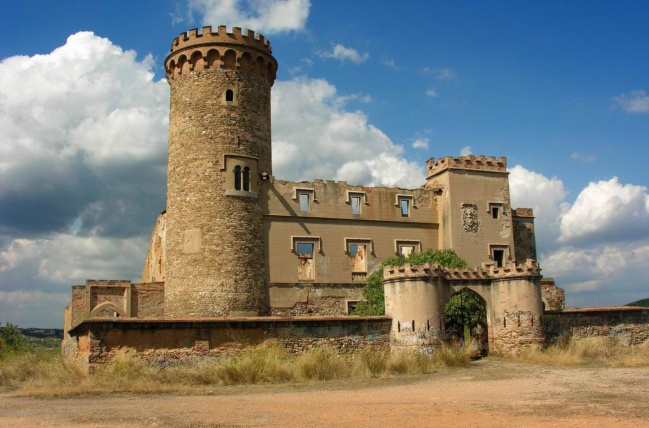 Башня Сальвана, также известная как Замок Ада из-за паранормальных феноменов и явлений / Фото: Wikipedia (C.C.)