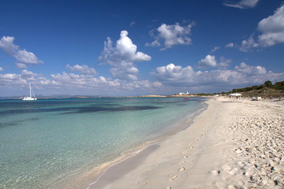 Пляж на острове Форментера. Фото: yashima (Flickr / C.C.)