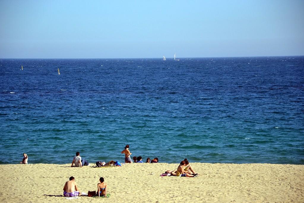 Мар Белья (Mar Bella). Лучшие пляжи Барселоны / Фото: diego.aviles (Flickr / C.C.)