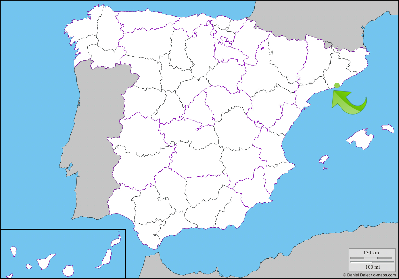 Город Салоу находится в стратегическом месте, всего в 110 км от Барселоны