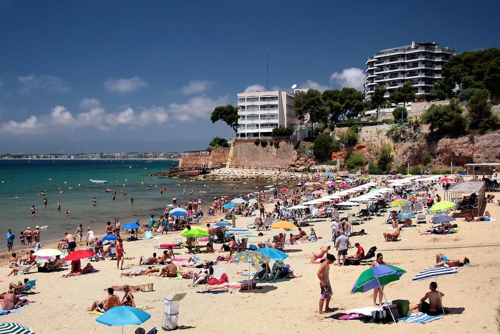 Пляж Капельянс Playa dels Capellans (Салоу) / Фото: Jorge Franganillo (Fickr / C.C.)