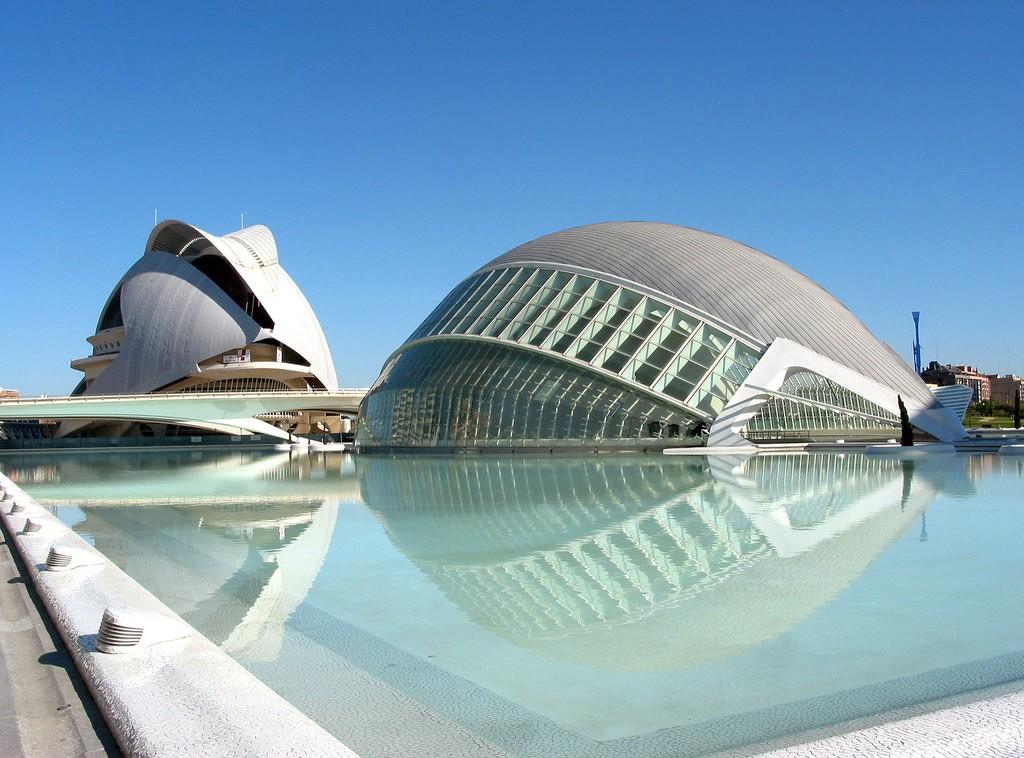 Город искусств и наук (Валенсия) фото: palm z (flickr)
