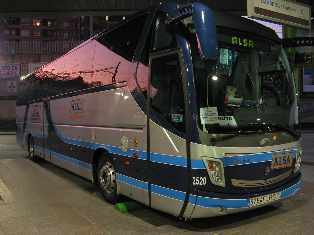 Как добраться из Мадрида в Барселону. Автобус Alsa (автор: ajgelado)