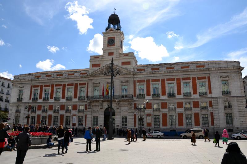Улица Preciados и зона Puerta del Sol