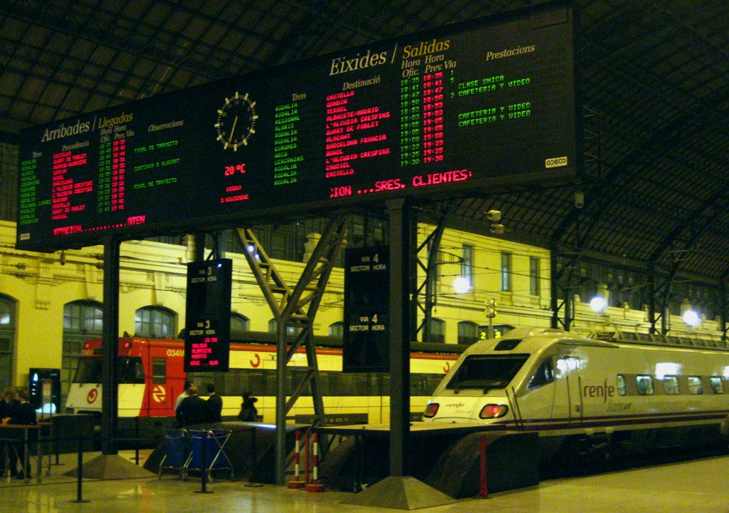 Estacion del Nord Valencia mallol