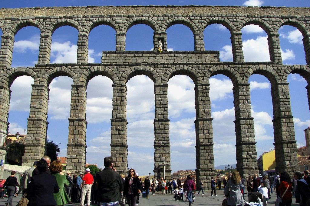 Акведук Сеговии, символ города / Фото: rubenvike (Flickr / C.C.)