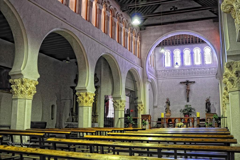 Монастырь Корпус Кристи в старой Синагоге Сеговии / Фото: Saga55 (Flickr / C.C.)