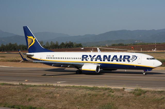 В аэропорте города Жирона в основном оперируют аэролинии лоукост / Фото: Fotero (Flickr / C.C.)